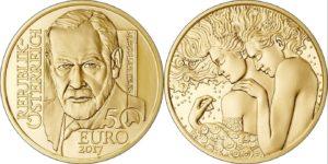 Austria 2017 50 euro Freud