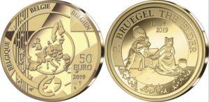 Belgium 2019 50 euro Bruegel