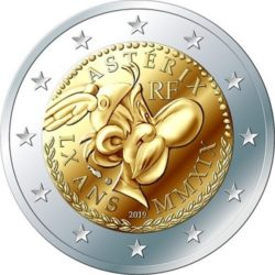 2 евро Астерикс