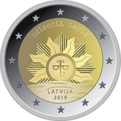 2 euro Latvia 2019 Rising Sun