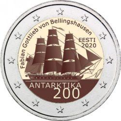 2 euro Estonia 2020 Antarktika