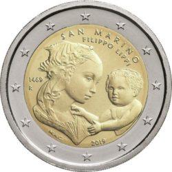 2 euro San Mariono 2019 Lippi