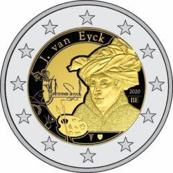 2 euro Belgium 2020. Jan van Eyck