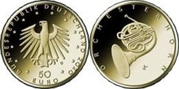 50 евро Германии 2020 «Валторна»