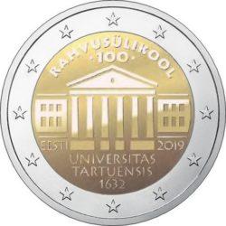 2 euro Estonia 2019 Tartu