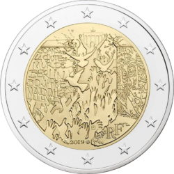 2 euro France 2019 Berlin