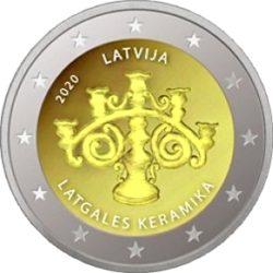 2 euro Latvia 2020 Keramika