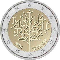 2 euro Estonia 2020 Tartu