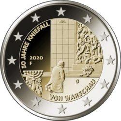 2 euro Germany 2020 Warschau