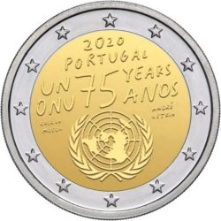 2 euro Portugal 2020 UN