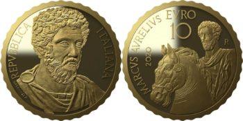Italy 2020 10 euro Marcus Aurelius
