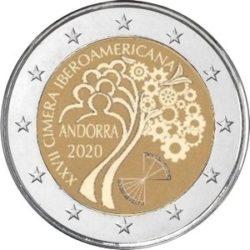 2 euro Andorra 2020 Summit