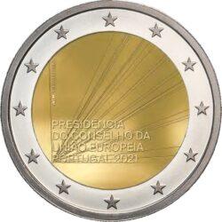 2 euro Portugal 2021 Presidency