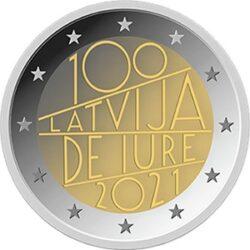 2 euro Latvia 2021
