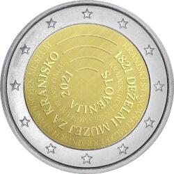 2 euro Slovenia 2021