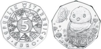 Austria 2021 5 euro 1 ostermuenze_ag
