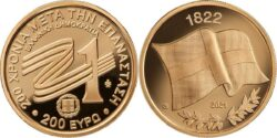 Greece 2021 200 euro 1822