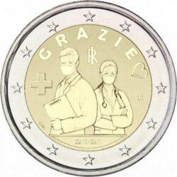 2 euro Italu 2021 Grazie