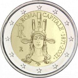 2 euro Italu 2021 Roma