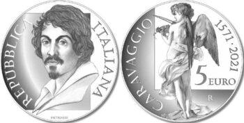 Italy 2021 5 евро Caravaggio