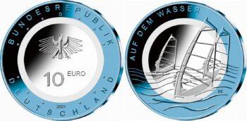 Germany 2021 10 euro