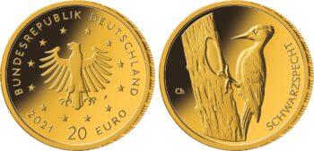 Germany 2021 20 euro