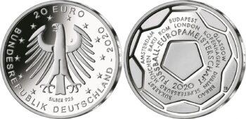 Germany 2021 20 euro Football