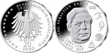 Germany 2021 20 euro Kneipp