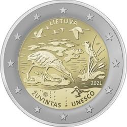 2 euro Lietuva 2021 Zuvintas