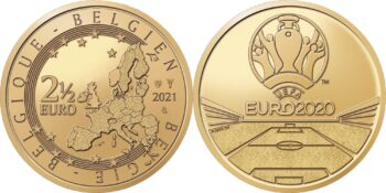 Belgium 2021 2.5 euro EURO-2020