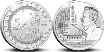 Belgium 2021 5 euro van Depoele