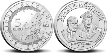 Belgium 2021 Belgium 2021 5 euro Blake&Mortimer