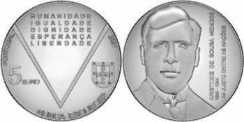 Portugal 2021 5 euro Nunca esquecer