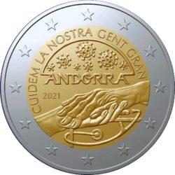 2 euro Andorra 2021 Med