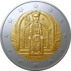 2 euro Andorra 2021 Meritxell