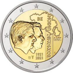 2 euro Belgium 2021 Union