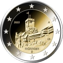 2 euro Germany 2022 Thuringia