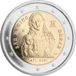 2 euro San-Marino 2021 Durer
