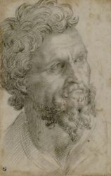 Benvenuto Cellini. Self-Portrait