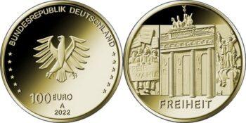 Germany 2022 100 euro Freiheit