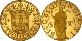 Portugal 2021 2.5 euro Escudo Sao Tome