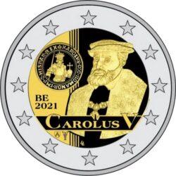 Belgium 2 euro 2021 Carolus V