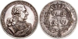 Stanisław August Poniatowski talerus 1766