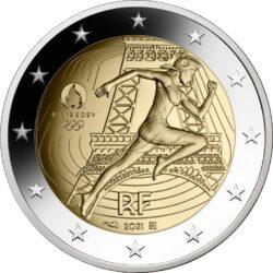 2 euro France 2021 Olimp