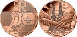 France 2021 0.25 euro Tokyo-Paris