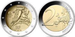 France 2021 2 euro Paris 2024