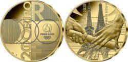 France 2021 200 euro Tokyo-Paris
