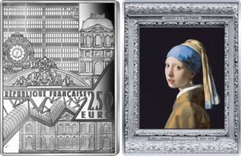France 2021 250 euro Girl with a Pearl Earring