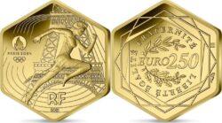 France 2021 250 euro Paris 2024