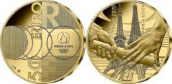 France 2021 50 euro Tokyo-Paris